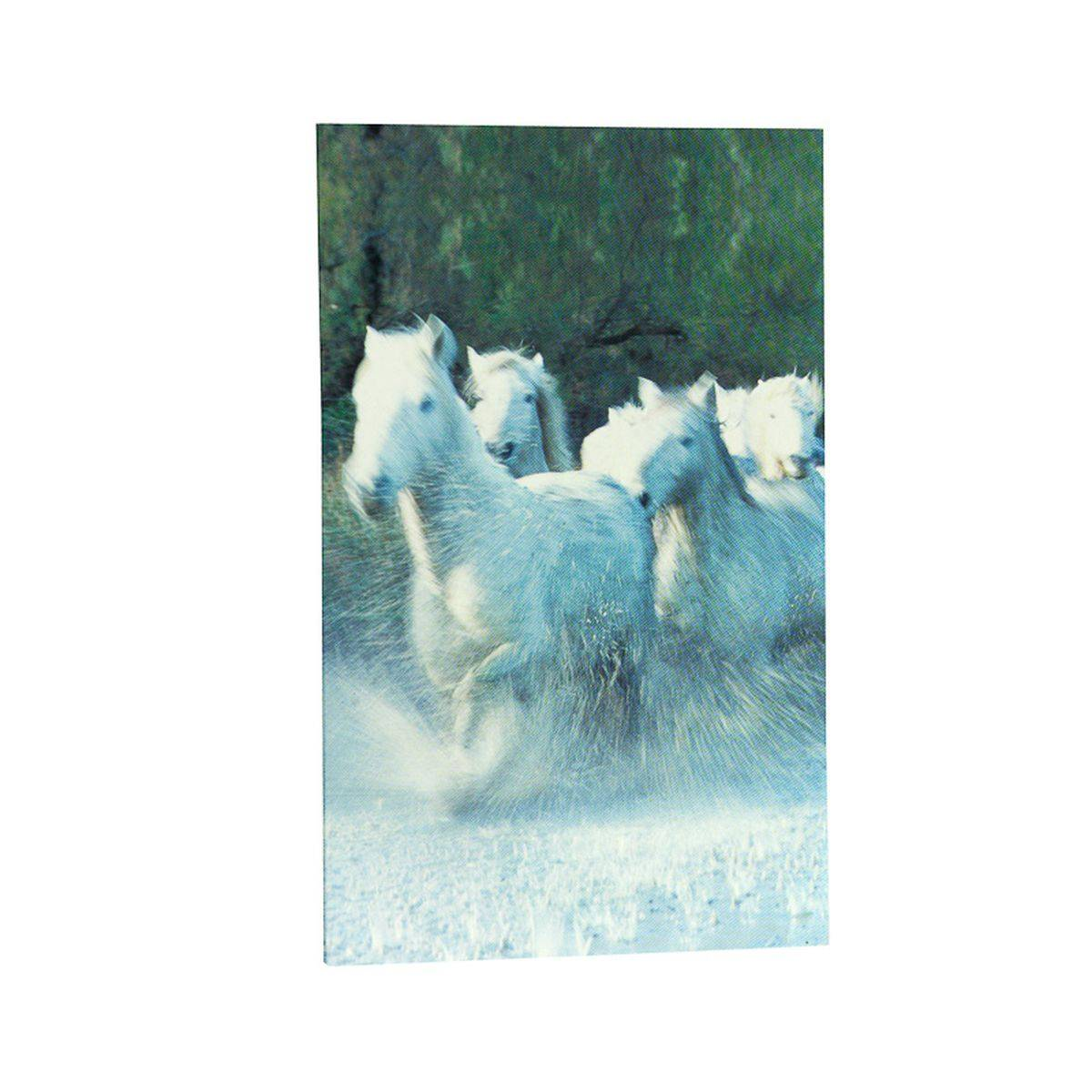 Horze White Horse Notebook