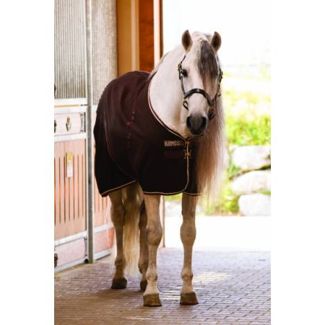 Rambo Stable Blanket - Medium Weight, Black