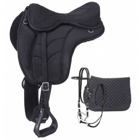 Eclipse By Tough-1 Treeless Endurance Saddle Package