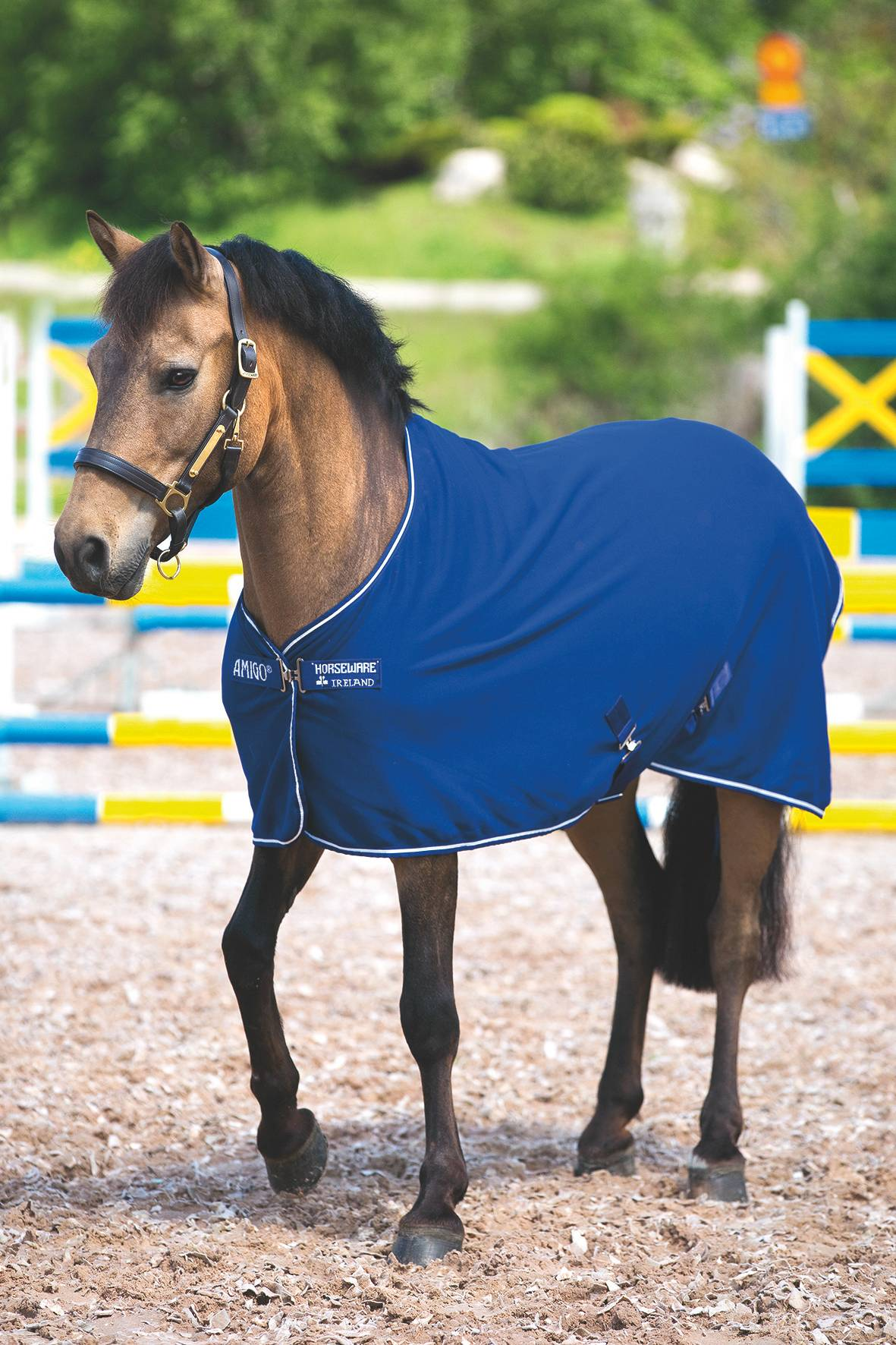Amigo Jersey Pony Removable Surcingles