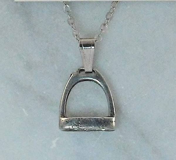 Finishing Touch Stirrup Pendant