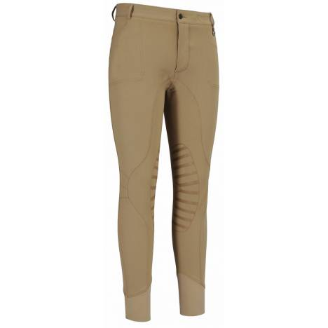 TuffRider Mens Ingate Knee Patch Riding Breeches