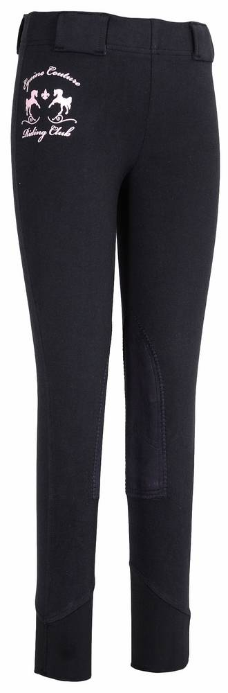 Equine Couture Kids Riding Club Pull On Tights