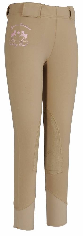 Equine Couture Riding Club Pull On Tights - Kids