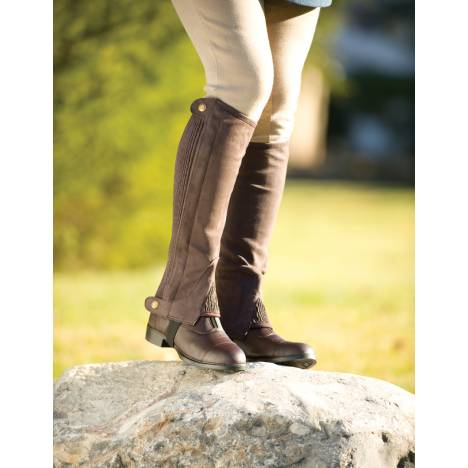 Millstone Adult Amara Synthetic Suede Half Chaps