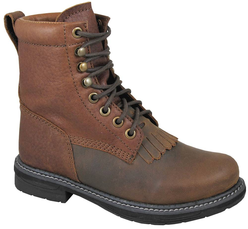 Smoky Mountain Youth Panther Lace Up Boots