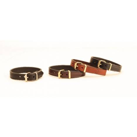 TORY LEATHER Leather Bracelet with Brass Buckle