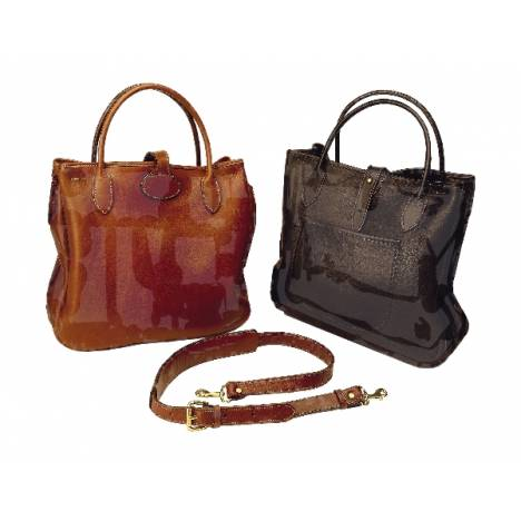 Tory Leather Milled Leather Tote Bag