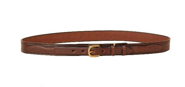 TORY LEATHER 1 1/4'' Ranger Belt with Brass Buckle
