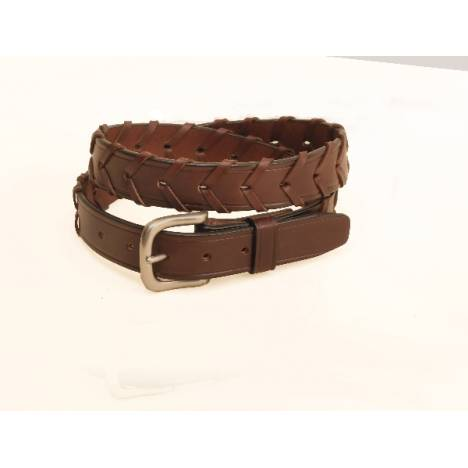 TORY LEATHER 1 1/4'' Laced Belt