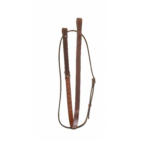 TORY LEATHER Bridle Leather Standing Martingale