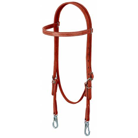 Weaver Leather Stacy Westfall Pro Tack Oiled Browband Headstall