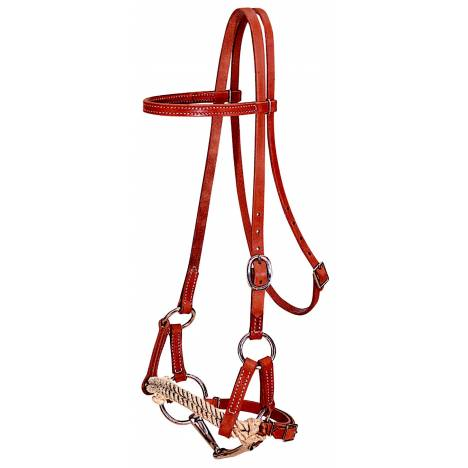 Weaver Harness Leather Half Breeds Bridle