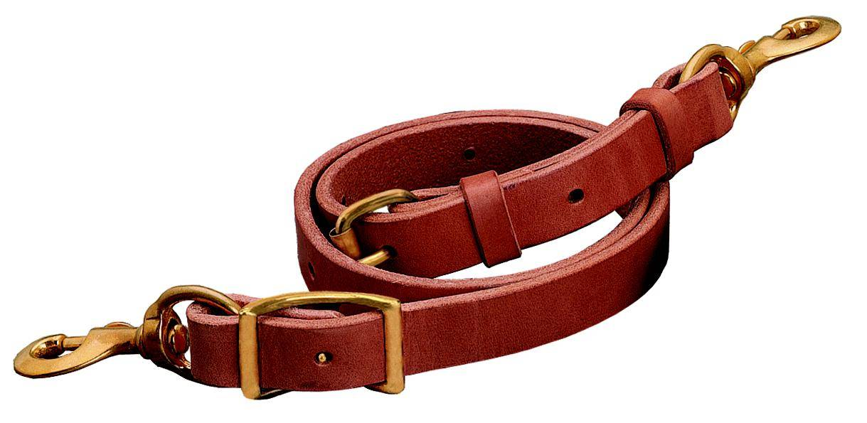 Weaver Leather Deluxe Leather Tie Down Strap