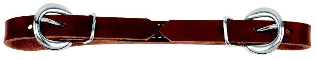 Weaver Flat Leather Curb Straps