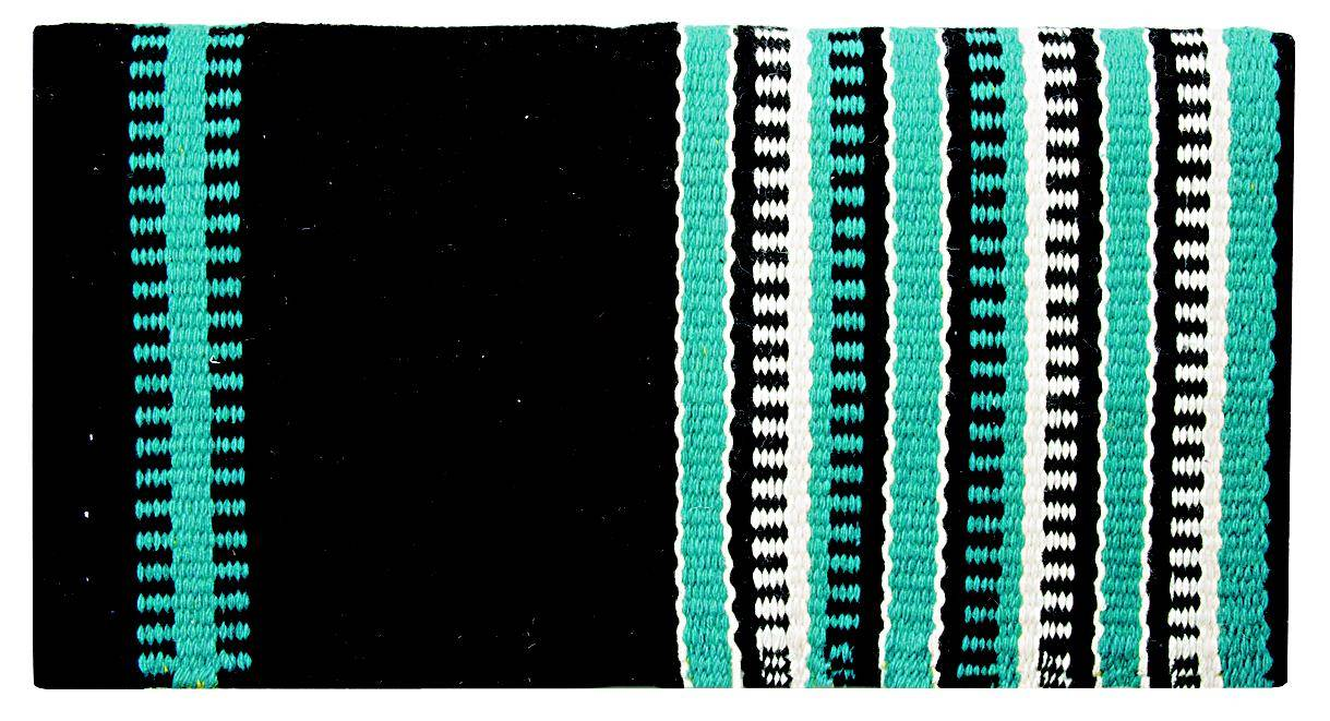 Weaver Reversible Pattern Wool Saddle Blanket