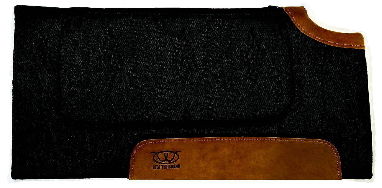 Weaver Bronco Cut Back Western Saddle Pad