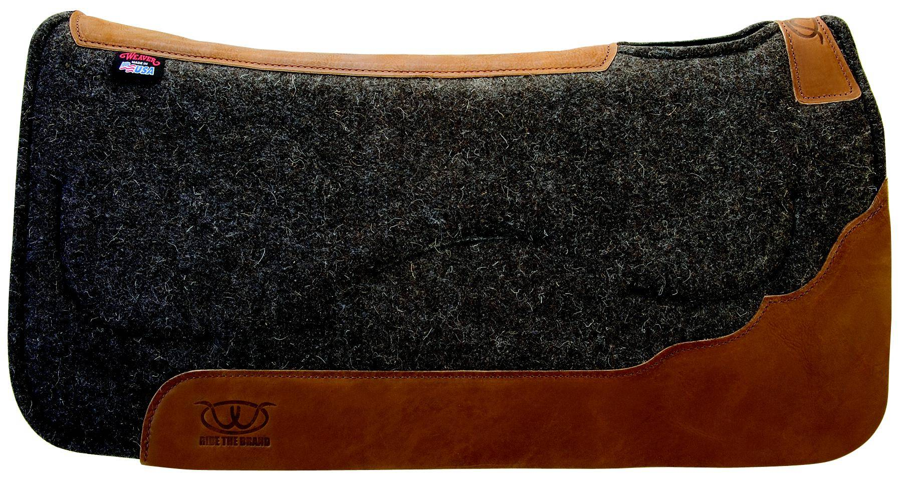 Weaver Leather Contoured Layered Felt Pad With Gel Insert