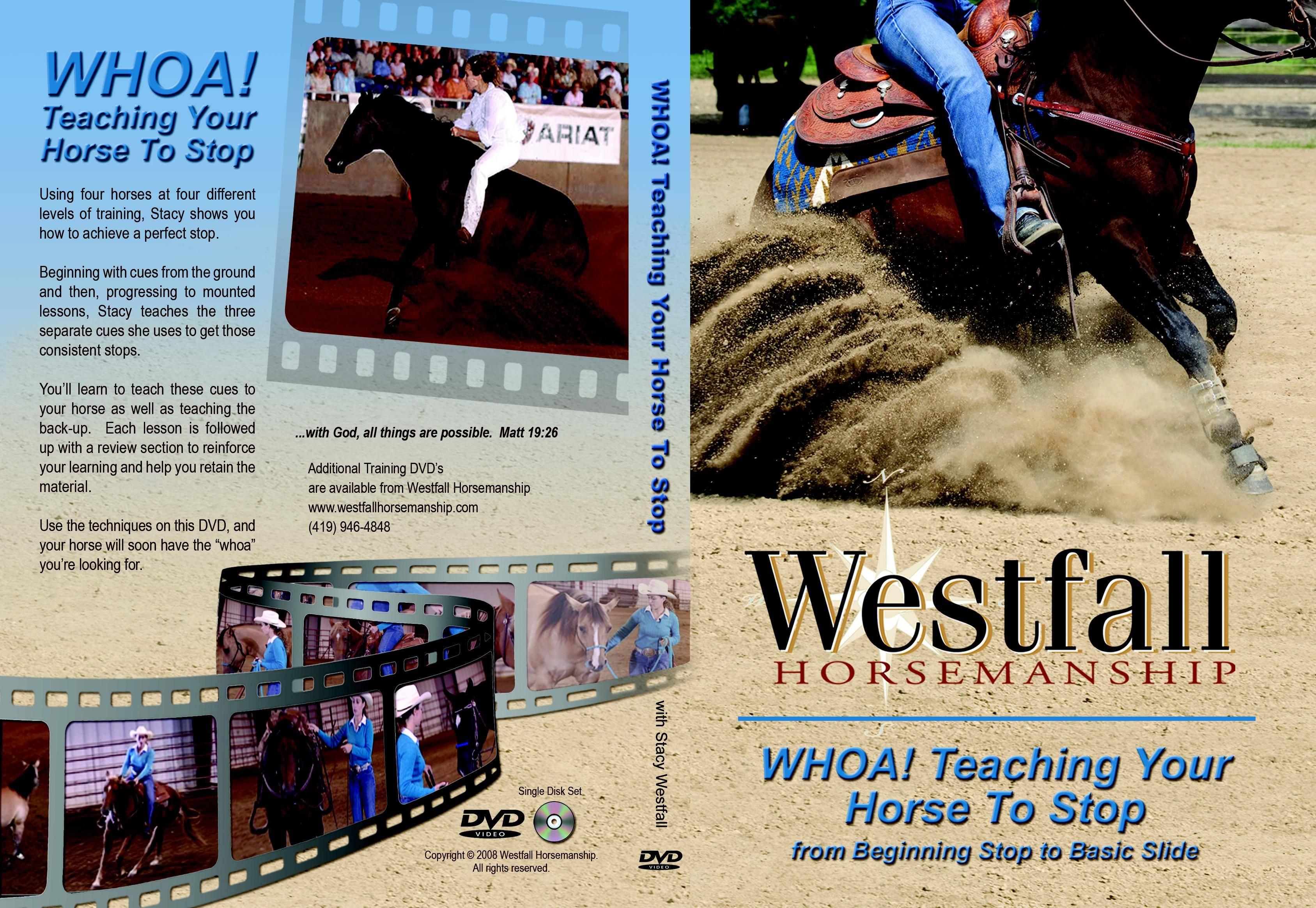 Weaver Leather Whoa-Teach Horse To Stop Dvd