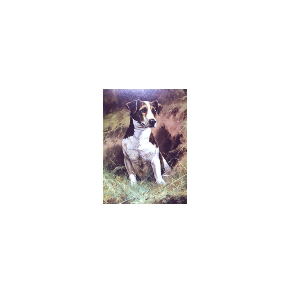 The Opportunist (Jack Russell) Blank Greeting Cards - 6 Pack