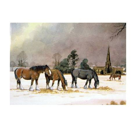 Ashbourne Church Blank Greeting Cards - 6 Pack