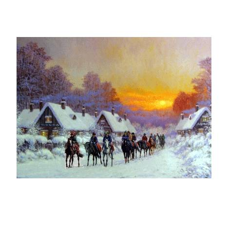 "Sally Mitchell ""Morning Glow"" Christmas Cards"