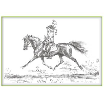 Now Relax Greeting Card - Pack of 6