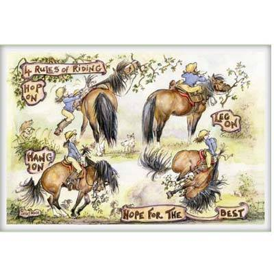 Jude Too 4 Rules of Riding Card Set