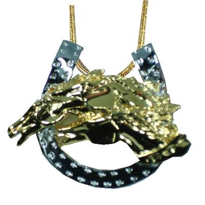 Exselle Drinkers of the Wind Horseshoe Pendant