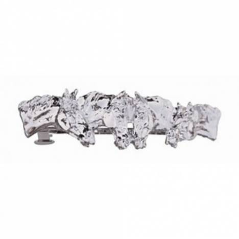 Beverly Zimmer Four Horse Head Hair Clip