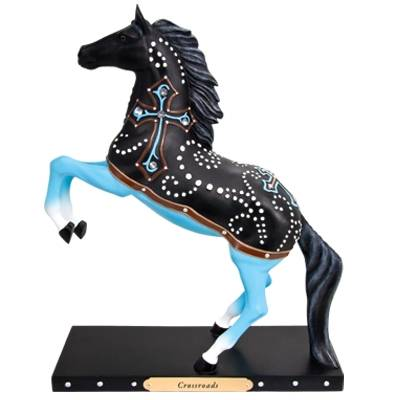 Trail of Painted Ponies Crossroads Figurine