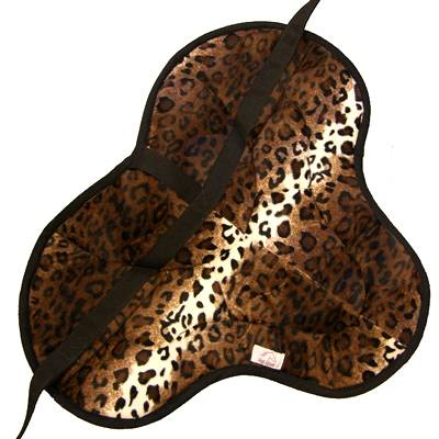 Best Friend English Style Bareback Pad - Leopard Print