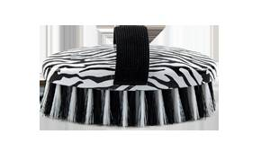 Lettia Collection Zebra Print Body Brush