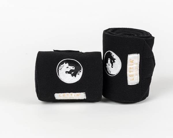 Lettia Embroidered Horse Polo Wraps