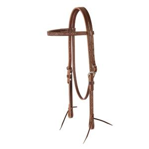 Boot Stitch Browband Headstall