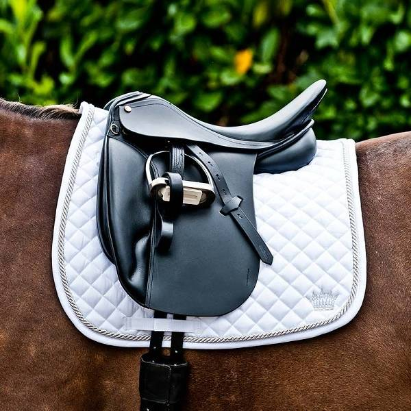 Horze Silver Cord Dressage Saddle Pad