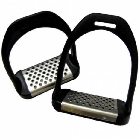 Shires Stirrup Irons w/Metal Tread