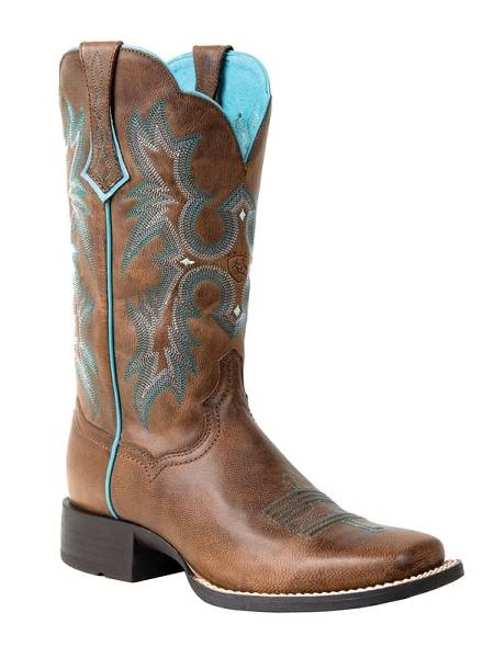 Ariat Tombstone Western Boot - Ladies, Sassy Brown