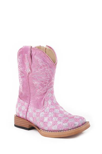 Roper Infant Bling Square Toe Cowgirl Boots