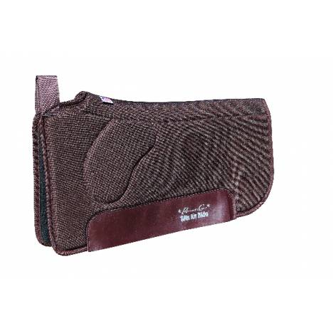 Professionals Choice SMx Air Ride Orthosport Saddle Pad - Felt