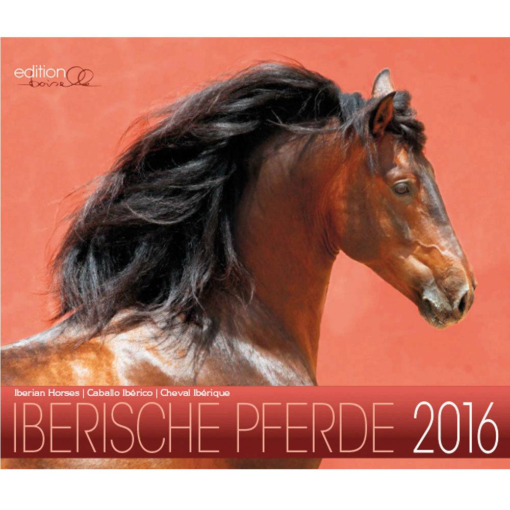 Gabriele Boiselle Andalusian Mid Sized 2016 Calendar