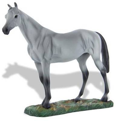 Breyer Bull In The Heather Resin Horse