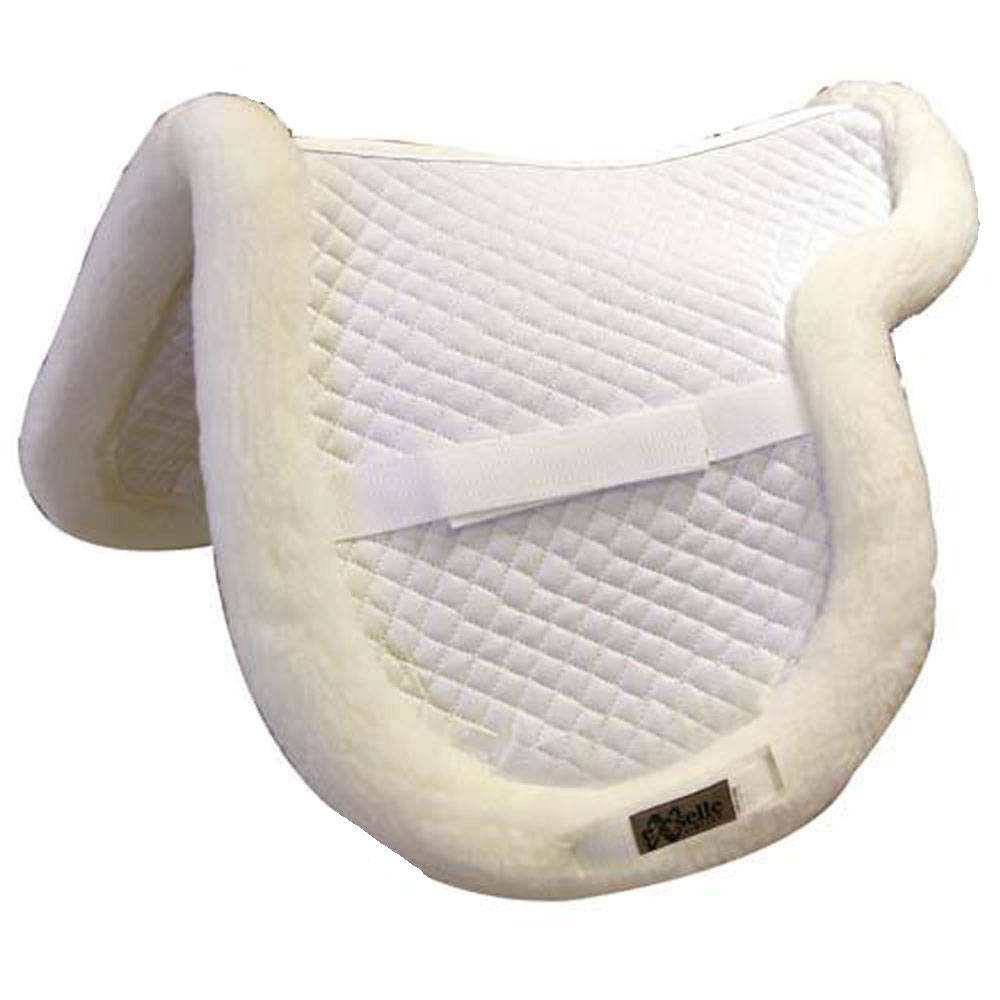 Exselle Quilted Shaped Close Contact Saddle Pad