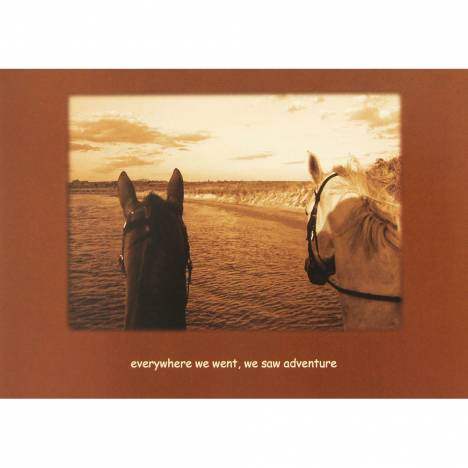 Sympathy (Horse) Everywhere We Went.... Blank Greeting Cards - 6 Pack