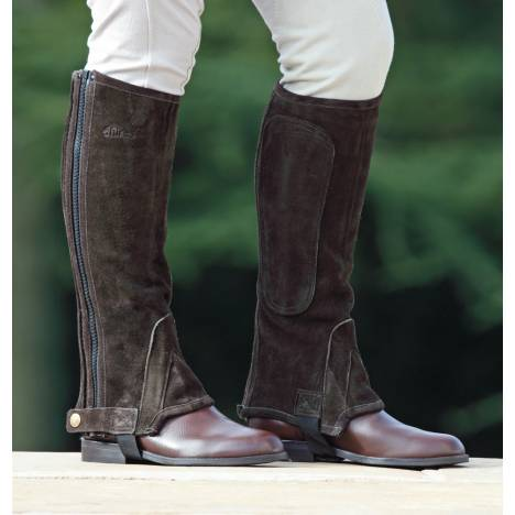 Shires Suede Half Chaps - Adult