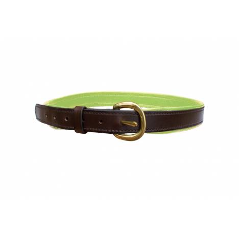 Perris Wide Padded Leather Belt - Ladies