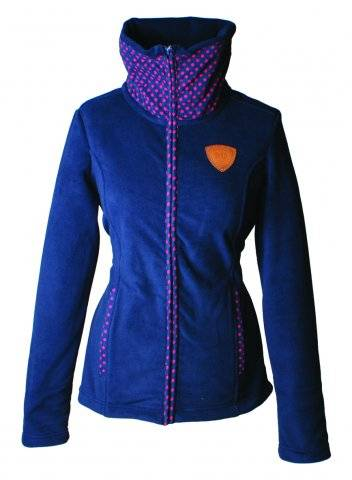 Outlet - Horseware Newmarket Camille Fleece Jacket - Ladies, X-Large, Navy
