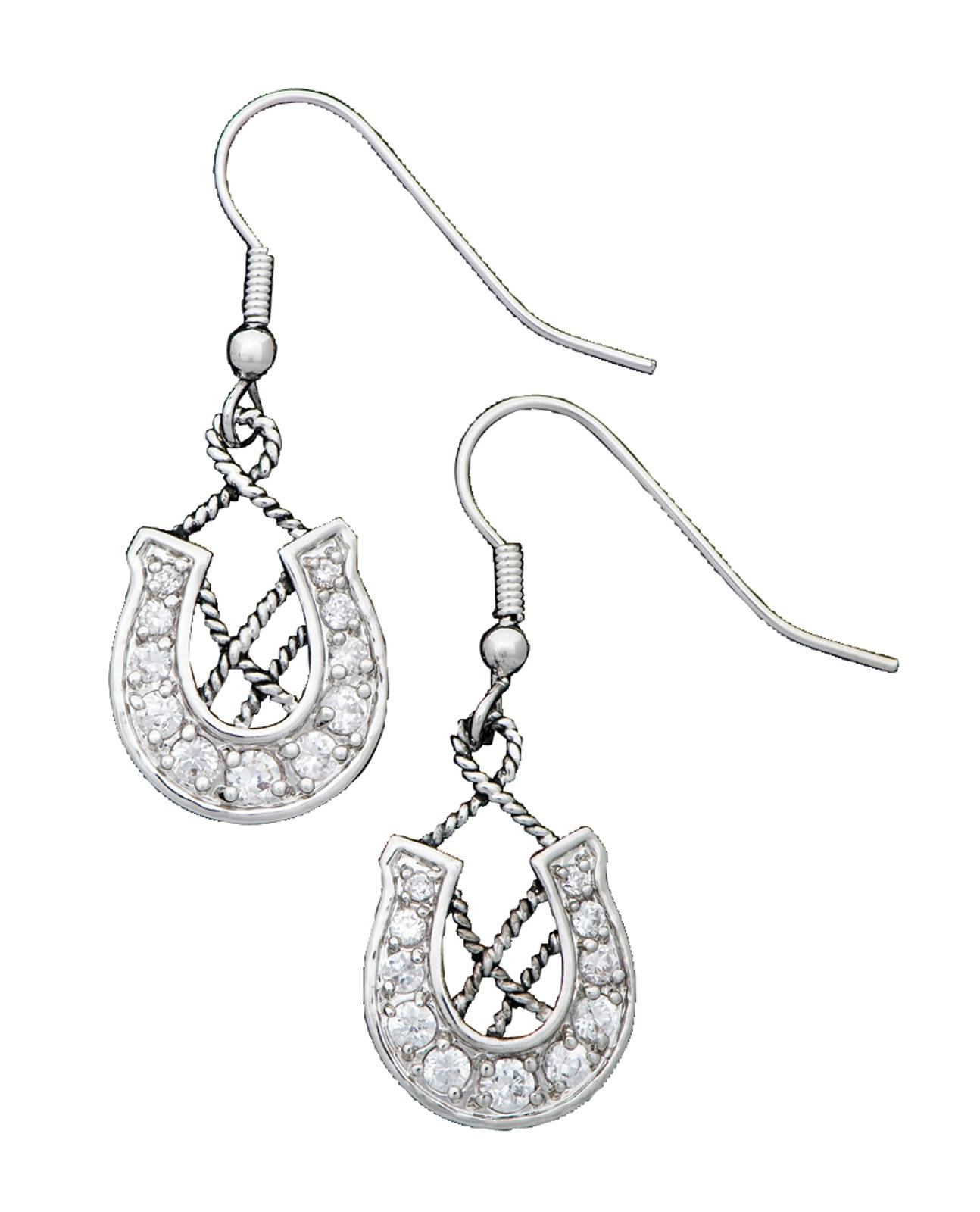 Montana Silversmiths Vintage Charm Making Your Own Way Earrings