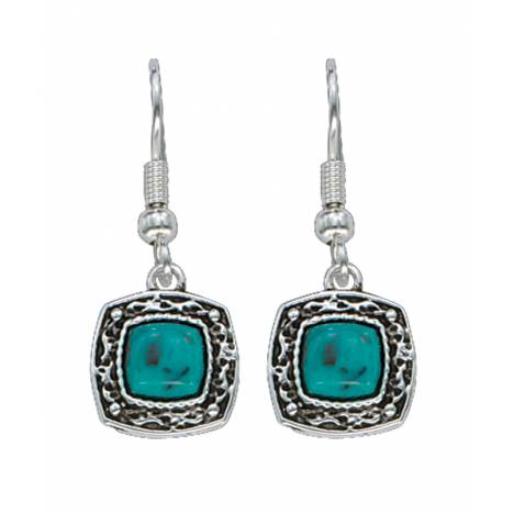 Montana Silversmiths Blue Earth Drop Earrings