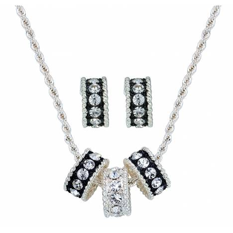 Montana Silversmiths Crystal Shine Jewelry Set